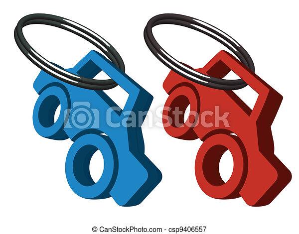 car medallions - csp9406557