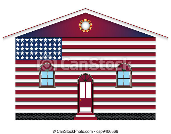 us house - csp9406566