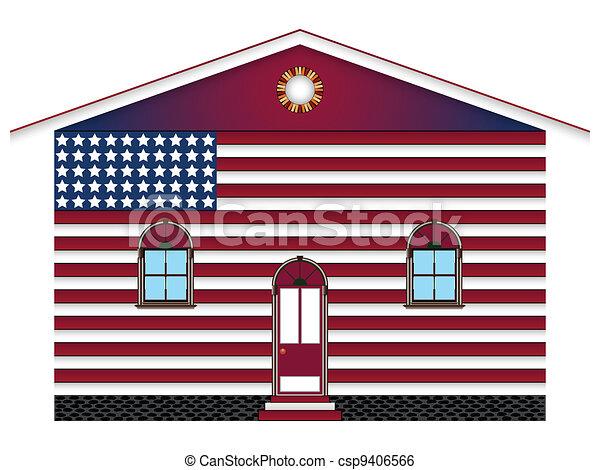 us house - csp9406566