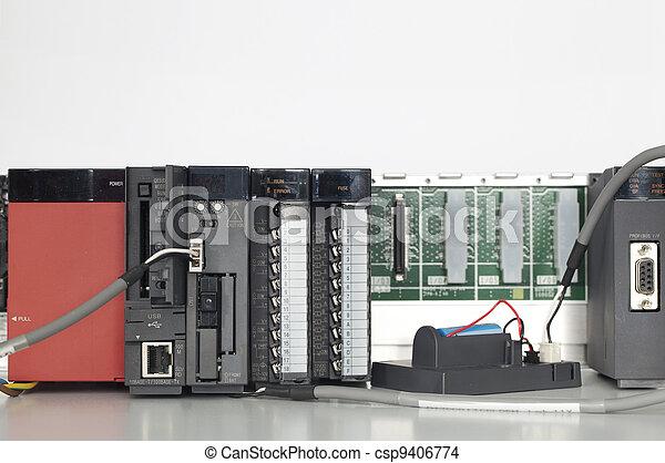 PLC automation  - csp9406774