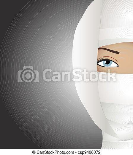 Face plastic reconstruction - csp9408072