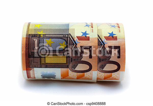 Monetary denominations advantage 50 euros - csp9408888