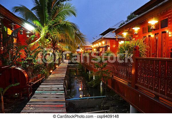 Thai Cultural Home - csp9409148