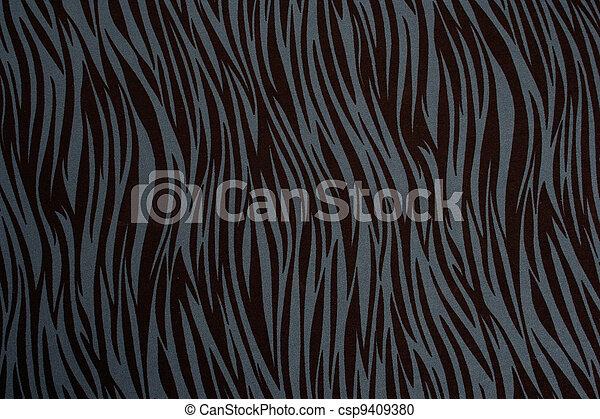 Animal print on fabric