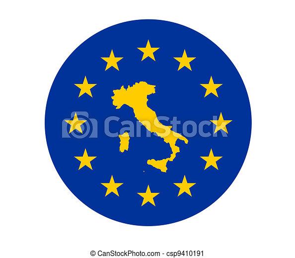 Italy European flag - csp9410191