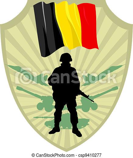 Army of Belgium - csp9410277