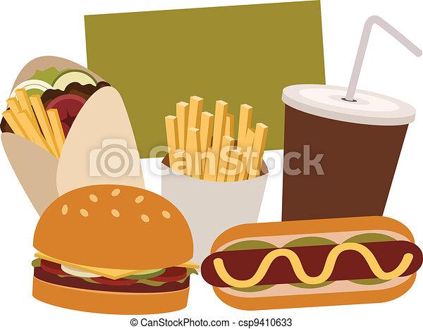 Junk Food - csp9410633