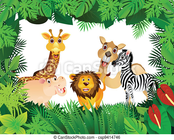 funny animal collection - csp9414746