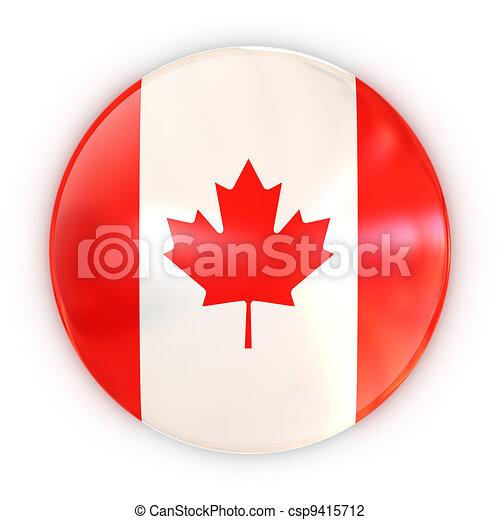 badge - Canadian flag - csp9415712