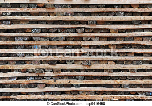 Timber Stacked - csp9416450