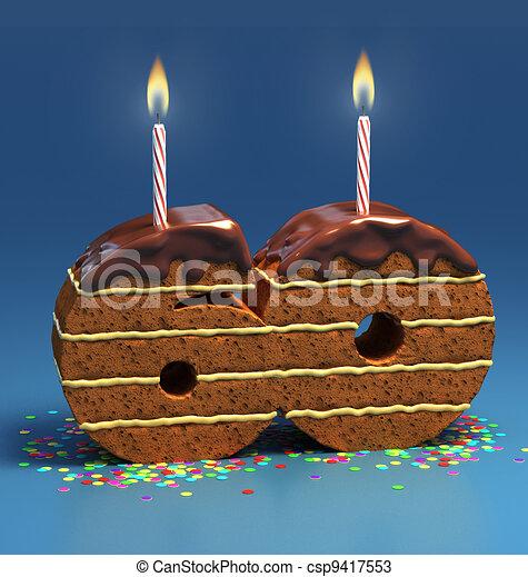 Фото зажженные свечи для торта