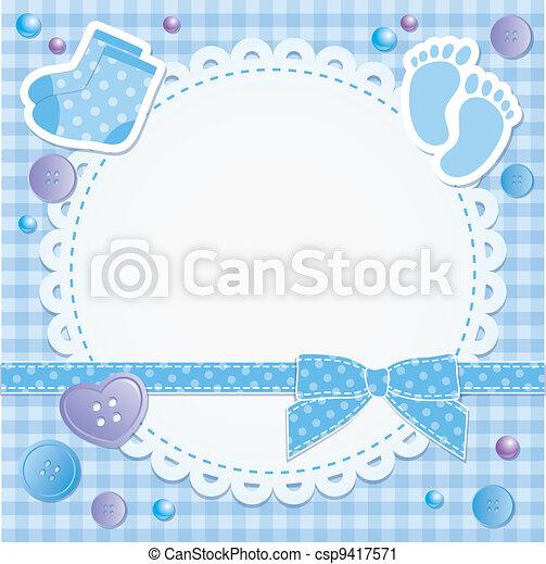 baby frame - csp9417571