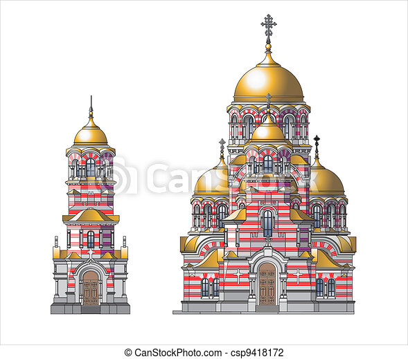 Orthodox Church - csp9418172