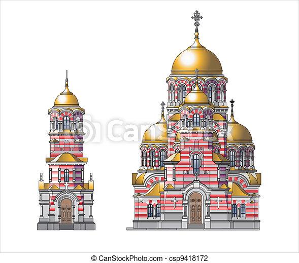 Orthodox Church - csp9418172
