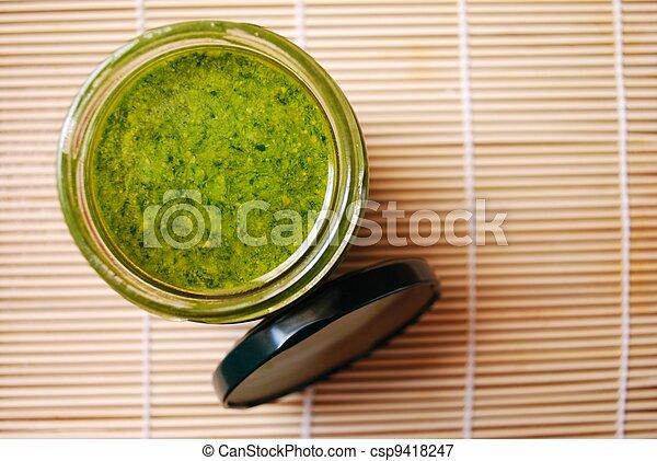 Pesto sauce - csp9418247