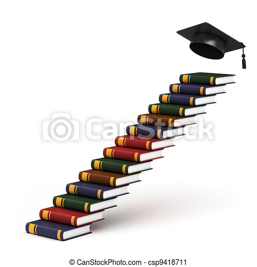 way to graduation  - csp9418711