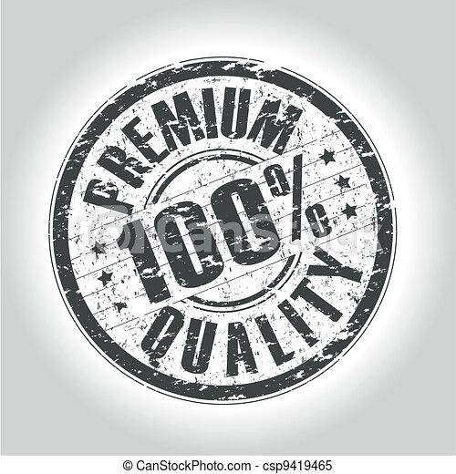 premium quality stamp - csp9419465