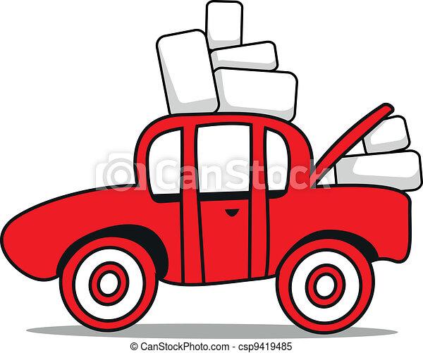 car boot sale - csp9419485