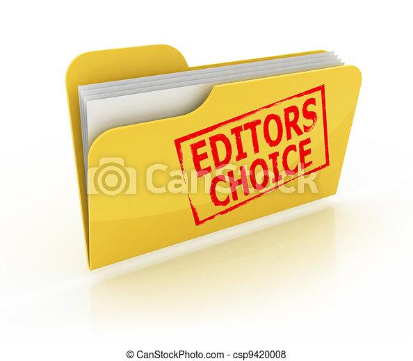 editors choice folder icon  - csp9420008