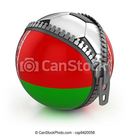 Belarus football nation   - csp9420058