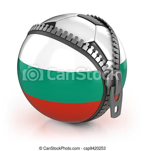 Bulgaria football nation  - csp9420253