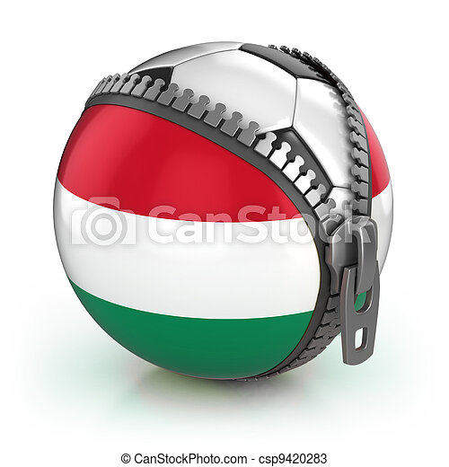 Hungary football nation - csp9420283