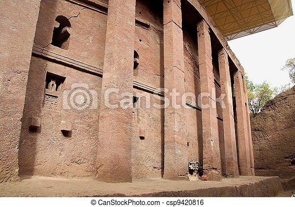 Church in Lalibela, Ethiopia - csp9420816
