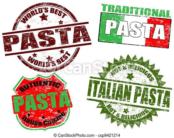 Pasta stamps - csp9421214