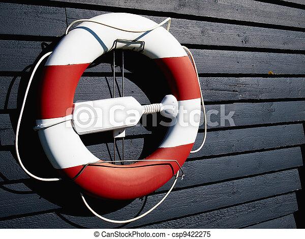 Life buoy preserver ring belt - csp9422275