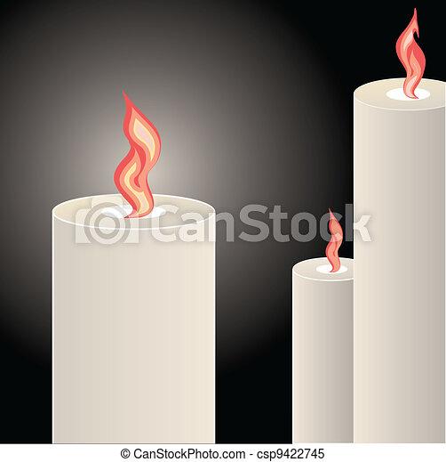 Candles - csp9422745