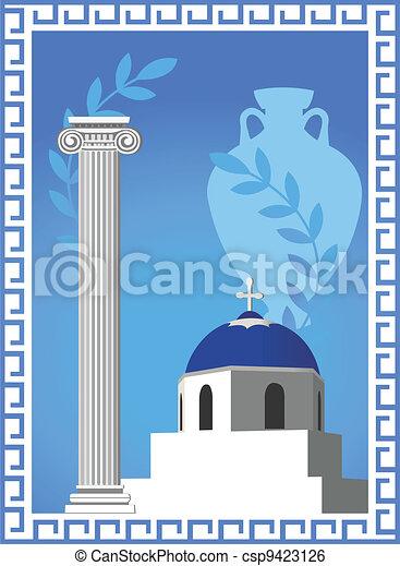 Greek Symbols - csp9423126