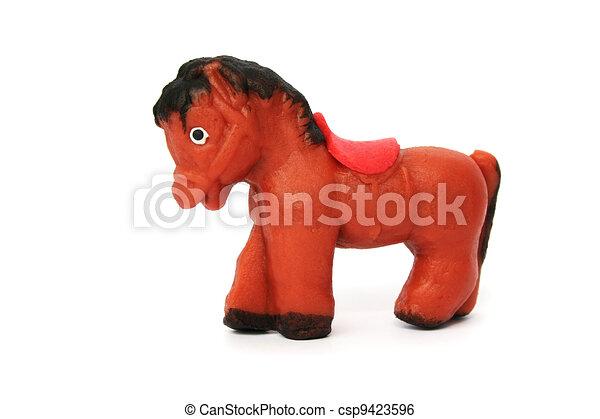 Marzipan horse - csp9423596