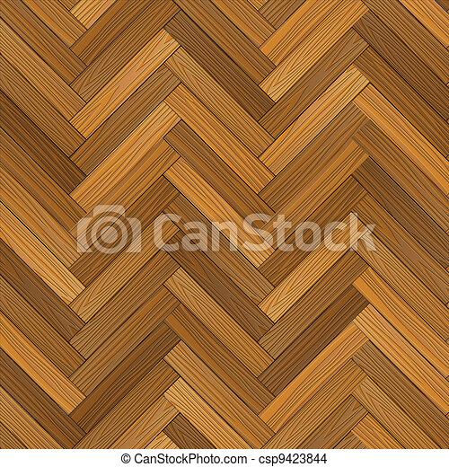 Vector wood parquet floor - csp9423844