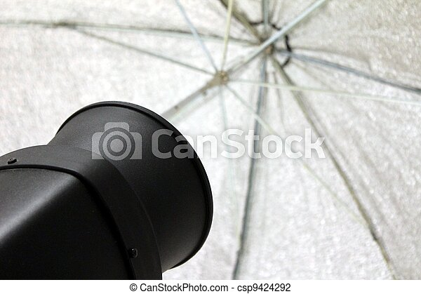 photography reflective umbrella - csp9424292