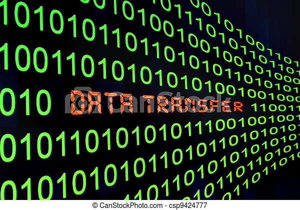 Übertragung, Daten - csp9424777