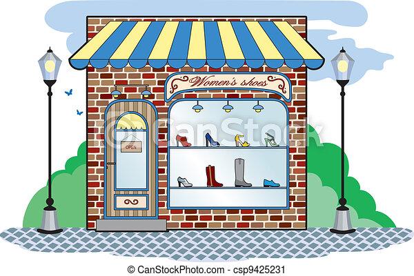 Shoe Shop Sign Clipart