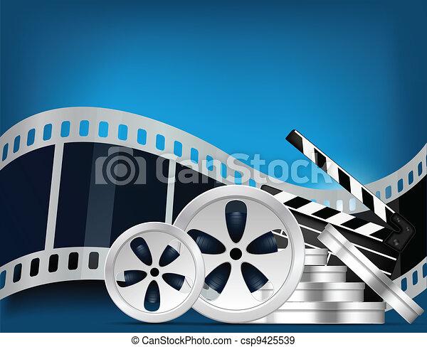 Cinema background - csp9425539