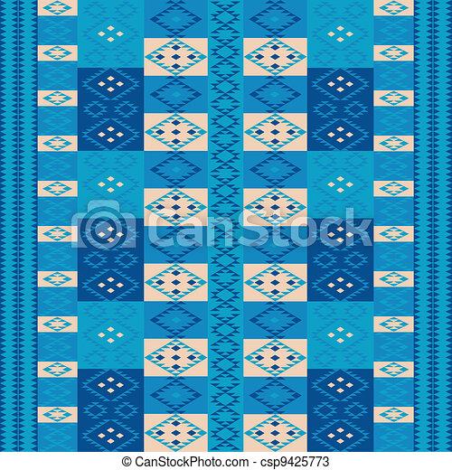 Blue carpet - csp9425773