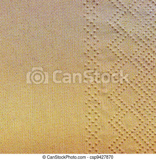 Paper napkin. Background - csp9427870