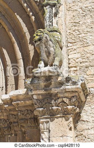 Sanctuary Church of St. Francesco. Lucera. Puglia. Italy. - csp9428110