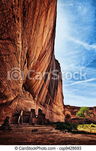 Cliff Dwelling - csp9428693