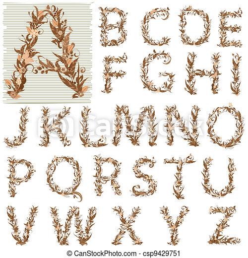alphabet - csp9429751