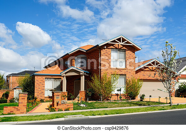 New home in a subdivision - csp9429876