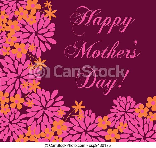 Mother's Day Greeting Card - csp9430175