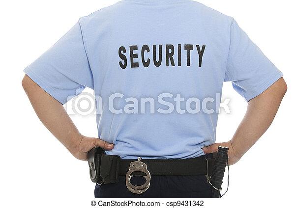 sicurezza, guardia - csp9431342