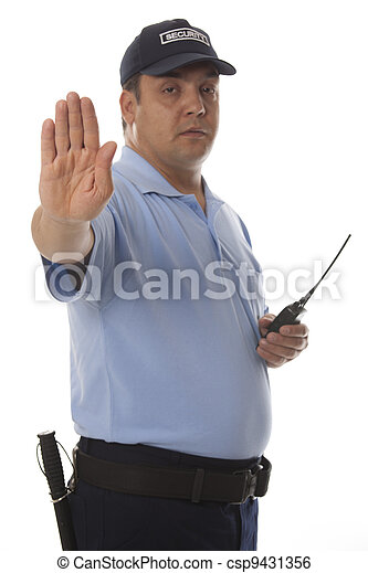 security guard - csp9431356