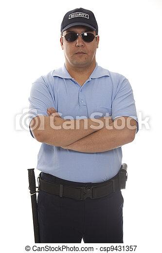 security guard - csp9431357