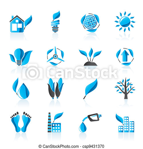 environment and nature icons - csp9431370