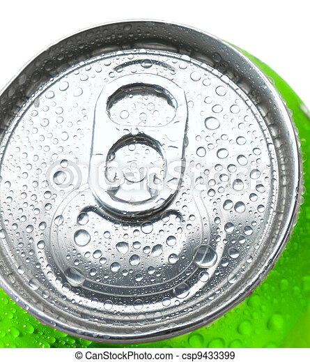 Stock Photographs of Close Up of a Soda Can with Pull Tab ...