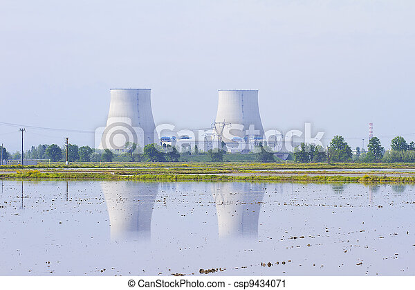 Nuclear Power Plant - csp9434071